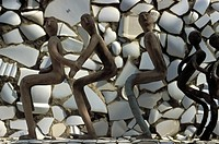 Rock Garden by Nek Chand, Chandigarh, India