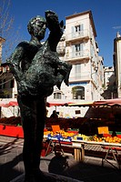 Vallauris, village of Picasso, Picasso-Sculpture, France.