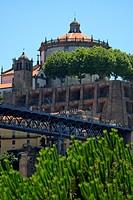 Portugal, Porto, da Serra do Pilar monastery