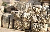 Roman remains, Jerash, Jordan