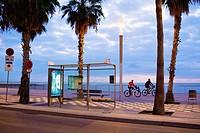 Barceloneta beach, Barcelona, Catalonia, Spain