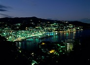 Night View of Atami, Atami, Shizuoka, Japan