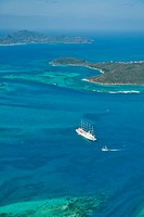 Tobago Cays and Mayreau Island, St. Vincent and the Grenadines.