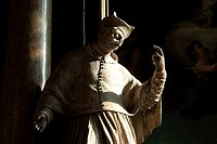 Statue of St. Vitus of the Januarius altar in St. Stephen´s Cathedral, Vienna Wien, Austria