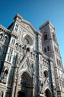 Dome and Giotto bell tower in Florence, Italy