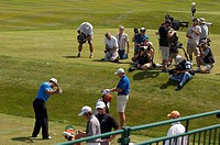 Media Professionals Gather for Tiger Woods