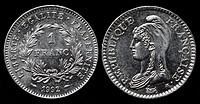 coin, France, 1992