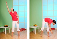 combine heaven and earth _ yoga exercise