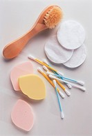 Face brush _ Cleaning pads and cotton bud