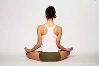 Yoga _ woman _ meditate