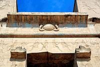 Horus temple 3rd century BC, Edfu, Egypt