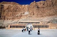 Mortuary Temple of Hatshepsut, Deir el_Bahari, Luxor West bank, Egypt