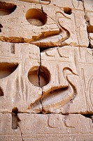 Mortuary Temple of Ramesses III, Medinet Habu, Luxor West bank, Egypt