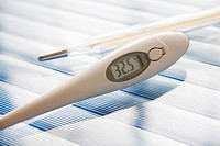 Two clinical thermometers