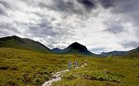 Skye Island  Hebrides Scotland  United Kingdom