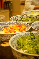 a close_up view of food on the table