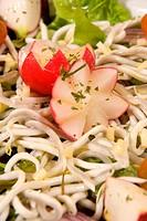 Elver salad