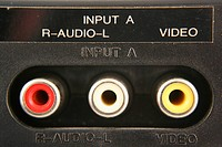 Audio video input jacks macro