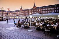 Plaza Mayor (main square), Madrid, Spain