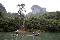 beautiful scenery in the Mt.Wuyi
