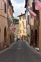 Asciano, Siena Province, Tuscany, Italy, Europe
