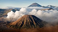 Gunung Bromo volcano in Java, Indonesia