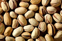 Pistachio macro crop texture background