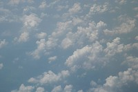 the aerial photography of clouds