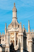 King's College Gatehouse Clock, Cambridge, UK