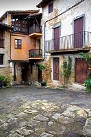 Carrer Major,Mallol,Girona province, Catalonia, Spain