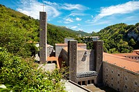 Basilica of Our Lady of Arantzazu, Oñati, Gipuzkoa, Basque Country, Spain
