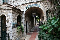 Chateau de la Chevre d'Or, hotel, Eze, village, Alpes Maritimes, Provence, Cote d'Azur, French Riviera, France, Europe
