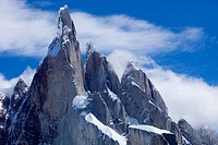 South America, Patagonia, Argentina, mountain, Cerro Torre, Cerro Egger, summit, peak, peaks