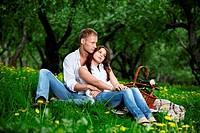 The enamoured couple