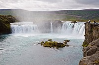 Go&#240;afoss waterfall, Iceland