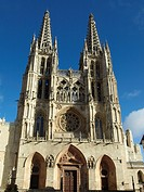 Gothic cathedral in Burgos