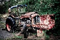 Abandoned Tracktor