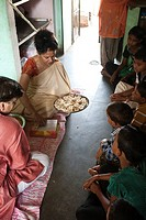 Lakshmi puja is performed during Diwali  Udayan is Vatsalya´s Residential Care Program for Orphaned & abandoned children in Rajasthan, India