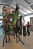 HORSE BUS, TRANSPORT MUSEUM OF LONDON LT MUSEUM, COVENT GARDEN, LONDON, ENGLAND