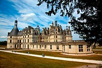 Chateau de Chambord in the Loire Valley of France
