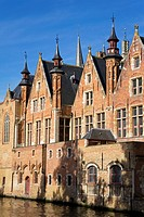 Bruges Museum_Stadhuis in the Burg, Bruges, West Flanders, Belgium, Europe
