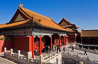 Baohe Hall, in Forbidden City,Beijing, China