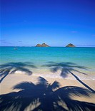 Lanikai Beach, Kailua, Oahu, Hawaii, USA