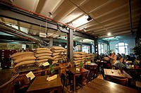 Coffee roastery and cafe, Speicherstadt, Hamburg, Germany