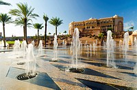 Emirates Palace Hotel, Abu Dhabi, United Arab Emirates, Middle East