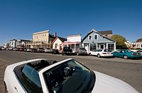 Main street, Mendocino, California, USA
