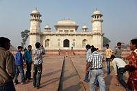 Itmad-Ud-Daulah´s Tomb, also known as Baby Taj Mahal, Agra, India