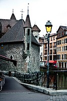Palais de l´Isle castle in the centre of the Thiou, Annecy, France, Europe