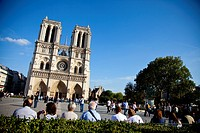 Notre Dame Cathedral, Paris, Ile de France, France, Europe