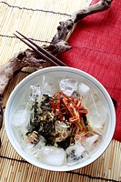 Chilled buckwheat,Korean country style
